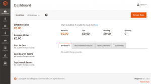 magento webshop backend 2