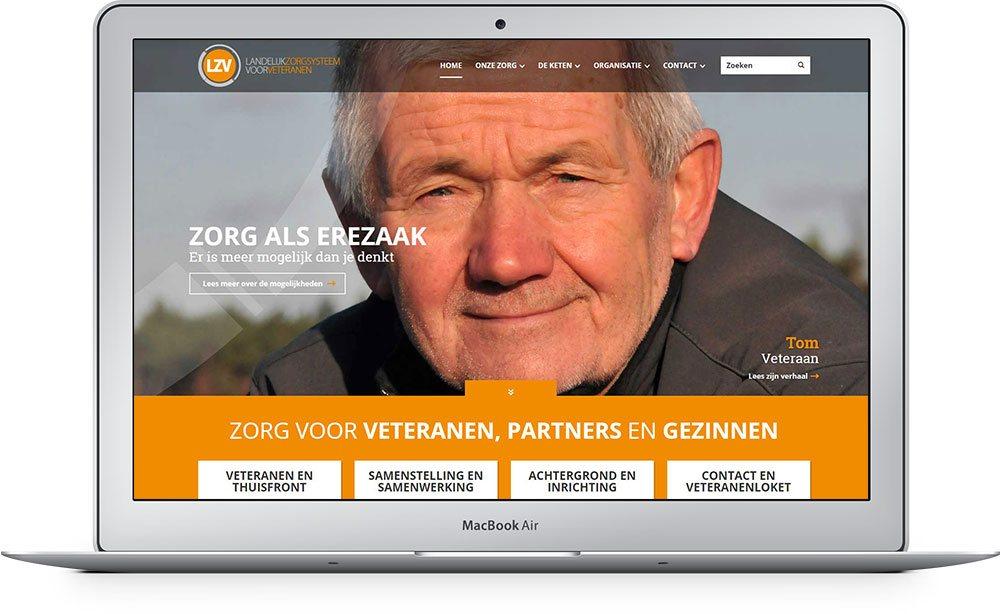 Website laten maken LZV Groep