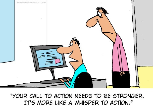 call to action strip