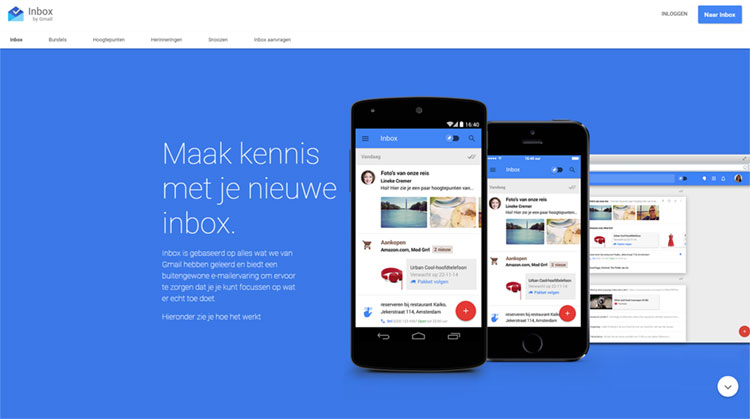 webdesign trend material design