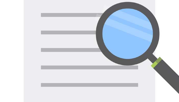 zoekwoorden analyse header