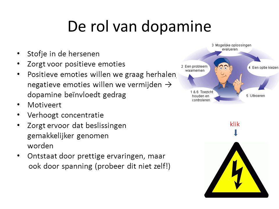 rol van dopamine