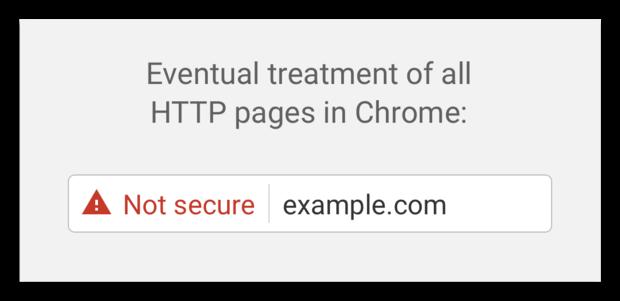 uiteindelijke https melding chrome