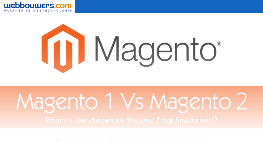 Infographic Magento 1 vs Magento 2